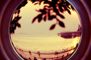 Fisheye Lens2, Red Scale Film